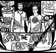 Ride The Tuck colouring page