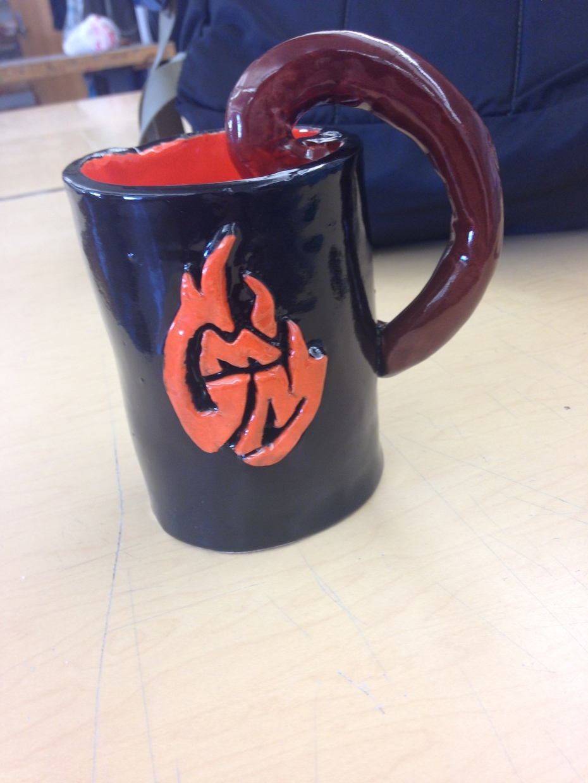 Hand Sculpted Good Mythical Mug