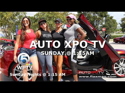 Cars and Coffee Palm Beach Lana Vegosen on AUTO XPO TV