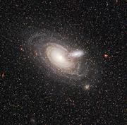 rare galaxy silhouette