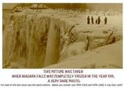 1911 Photo of Niagara Falls