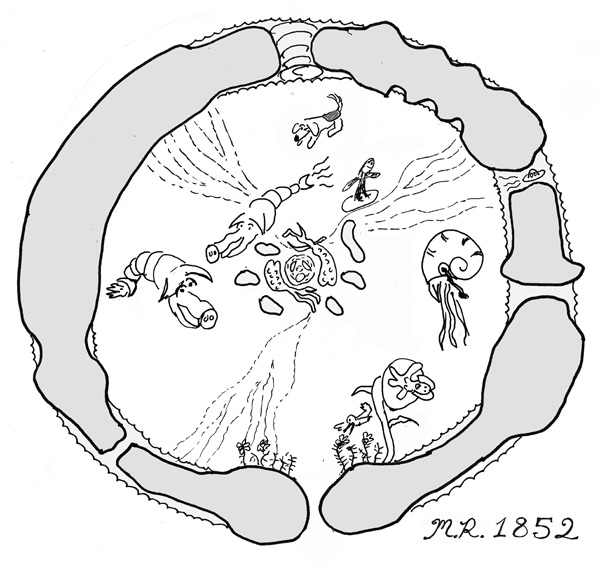 hollow earth creatures