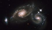 Arp 274 galaxy interaction