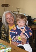 Me and my Grandson Hessel