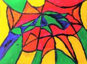 Acrylic Painting No 70 - 'Stained Glass' - David R. Steele - July 30, 2017