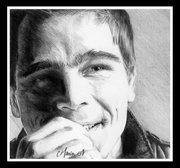 Josh Hartnett Sketch by Cathy Monin