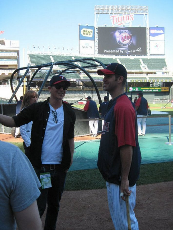 Josh At Minnesota Twins Game_August 17, 2010