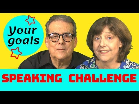 Your English goals - Speaking challenge 2019