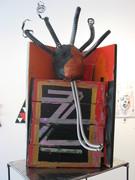 Get Up Get Down sculpture-Amilcar