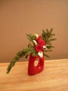 49. Red vase
