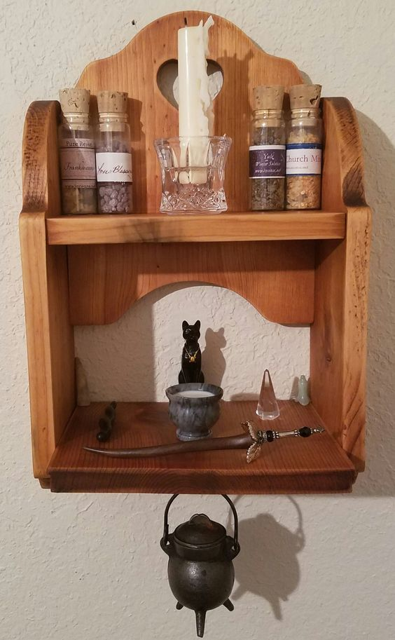 Kitchen Witchcraft A Kitchen Altar Witchy Workings In The