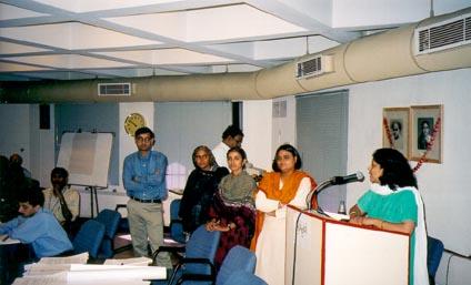 Break-out group report back from Sangeeta Gupta, TERI