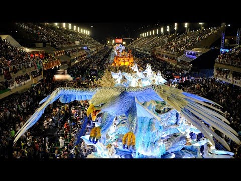 Top 50 Rio Carnival Floats [HD] | Brazilian Carnival | The Samba Schools Parade
