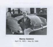 Manny Goldrich, my grandfather
