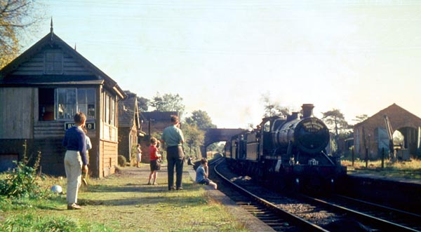 LCGB Railtour at Byfield 1963 (Ron Fisher)