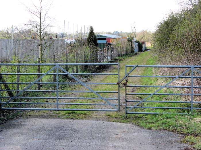 Mor(e)ton Pinkney station site and SMJ Trackbed