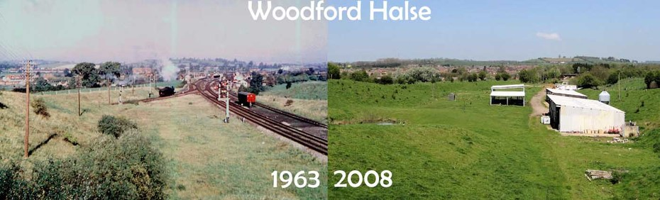 Woodford 'North Junction', then and now