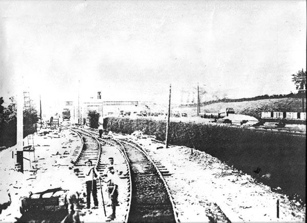 SMJR Roade station SMJ bay 1890