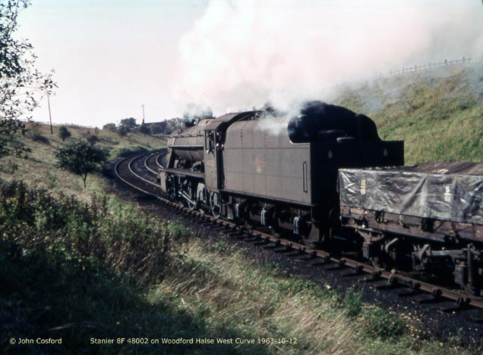 8F on Woodford West Curve (John Cosford)