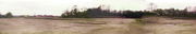 Panorama of Towcester Station site