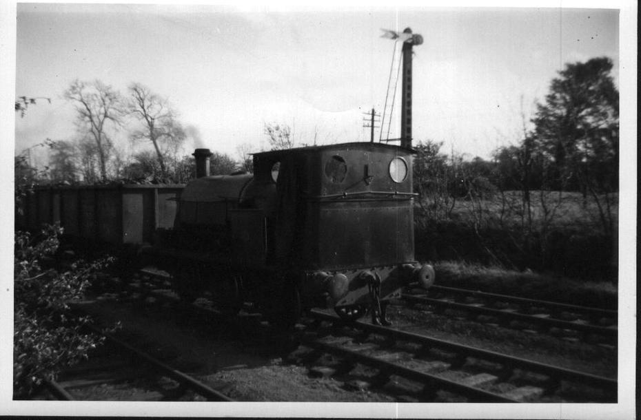 Hudswell Clarke No. 347 (1892) Byfield quarry 1957 002