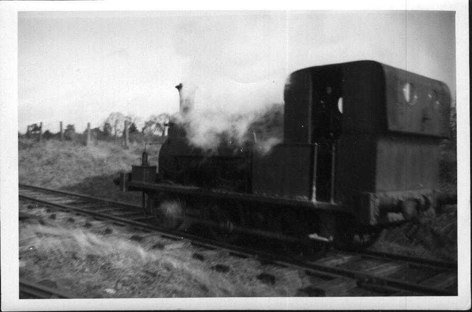 Manning Wardle No. 1235 (1893) Byfield quarry 1957