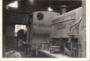 35.14 May 30 Cherwell and Sir Berkeley in shed at Byfield quarry