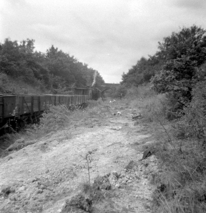 SMJ track recovery train Roade 29 7 1964