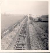 31.4 Jan 11 48221 heads towards Towcester from Moreton Pinkney