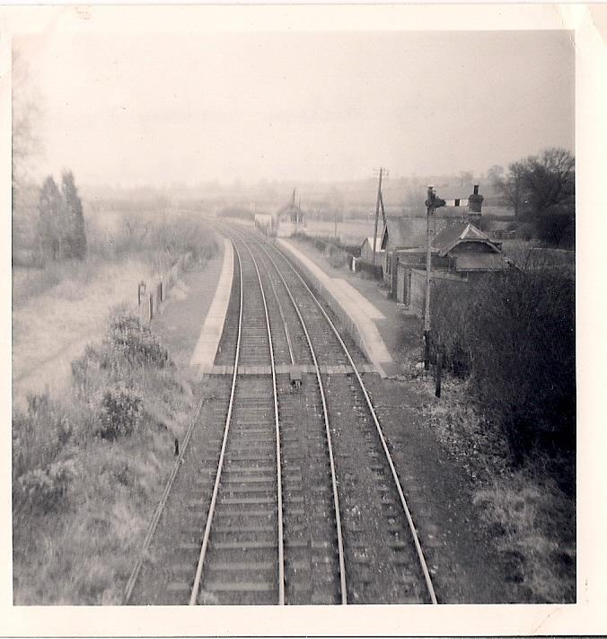 31.5 Jan 11 Blakesley station looking east
