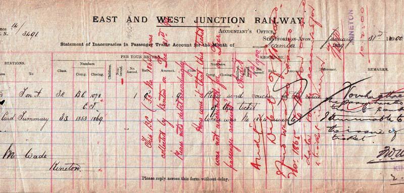 E&W statement of inaccuracies 1900