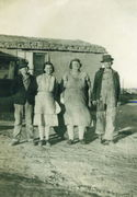 L to R-Donald, Mary, Louisa, Fred Norton