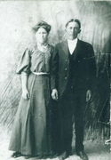 Fred Luther & Louisa (Harbour) Norton Marriage Pic