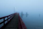 Fernwood dock in the fog