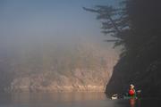 Desolation Sound and lifting fog