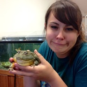 Jax's impression of Choncho the African Bull Frog