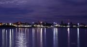 Ludington Michigan Harbor lights