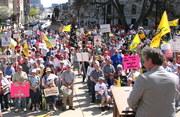 4-15-10 Lansing Michigan Tea Party rally 11