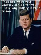 JFK on Hillary
