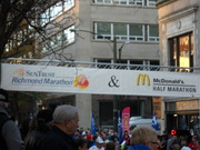 2010-11-13 Richmond Marathon, Half, 8K