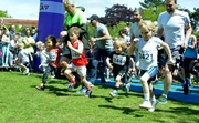 The first of the children's races.