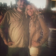 Peter came out to support me during CMA FEST 2013 @ The Wild Beaver Saloon!