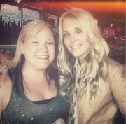 Courtney came all the way from Ohio to support me during CMA FEST 2013 @ The Wild Beaver Saloon!