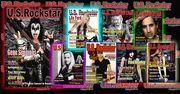 US ROCKSTAR MAGAZINE COVERS PROMO