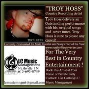 Troy Hoss Bookings green