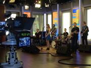 Jordan Green on set @ Fox & Friends NYC
