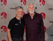 With Kenny Rogers!