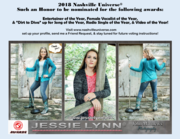 Jessie Lynn Nash Universe 2018 Nominations