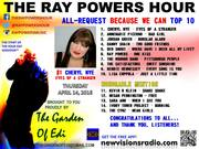 """#1 song """"The Ray Powers Hour"""" ( April 14th, 2016)"""