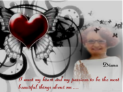 DIANA'S HEART & PASSIONS